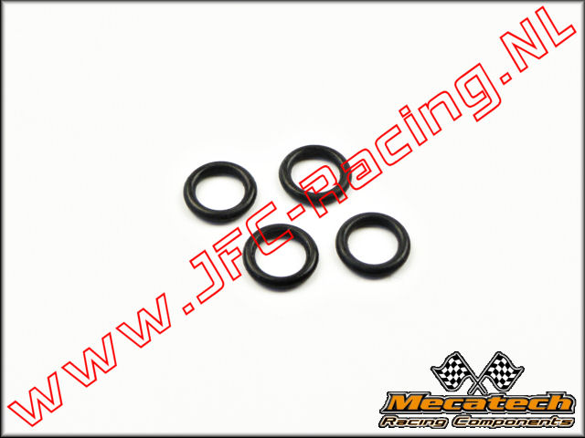 MEC 2009/14, Mecatech Klick Shock O-Ring (Ventiel) 4st.