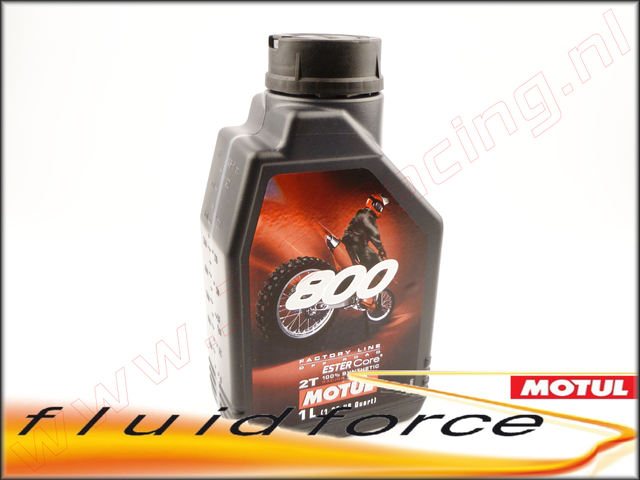 MO 104038, Motul? 800 2T Factoty Line motor olie (Ester Core?)(On/Off Road.) 1l.