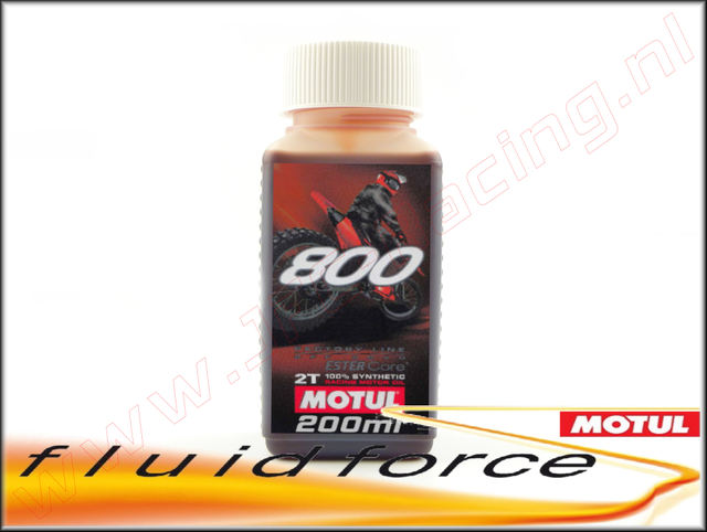 MO 0601, Motul® 800 2T Factoty Line motor olie (Ester Core®)(On/Off Road.) 200ml.