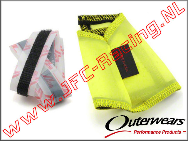 OUT 0162, Outerwears Carter / Vliegwiel  Hoes (<FONT COLOR=ffff00>Geel</FONT>) 1st.