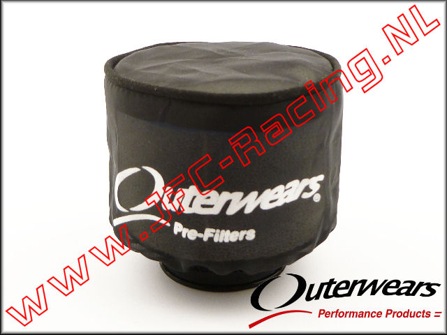 OUT 0280, Outerwears Pre-Filter Lucht Filter (Zwart) 1st.