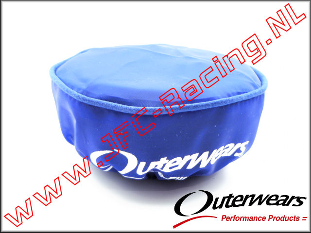 OUT 0321, Outerwears Pre-Filter Lucht Filter (Losi 5ive-T)(<FONT COLOR=0000ff>Blue</FONT>) 1st.