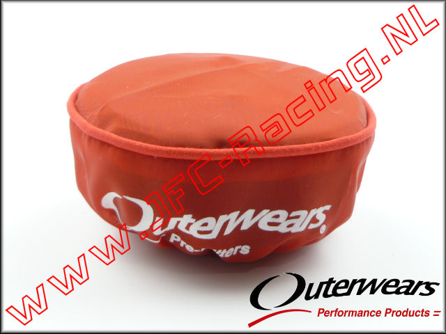 OUT 0322, Outerwears Pre-Filter Lucht Filter (Losi 5ive-T)(<FONT COLOR=ff0000>Red</FONT>) 1st. <BR>