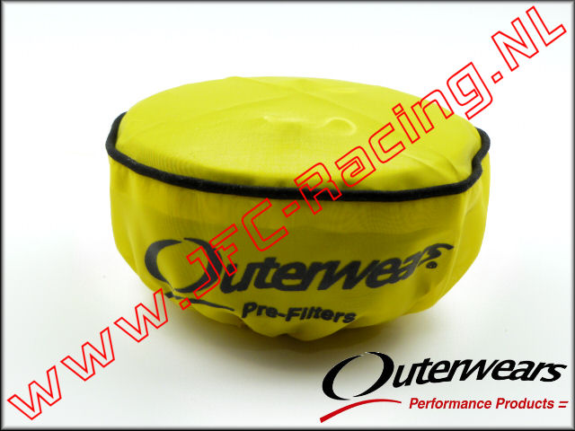 OUT 0323, Outerwears Pre-Filter Lucht Filter (Losi 5ive-T)(<FONT COLOR=ffff00>Yellow</FONT>) 1st.
