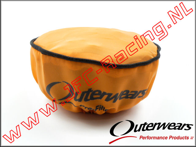 OUT 0324, Outerwears Pre-Filter Lucht Filter (Losi 5ive-T)(<FONT COLOR=ff7301>Orange</FONT>) 1st.