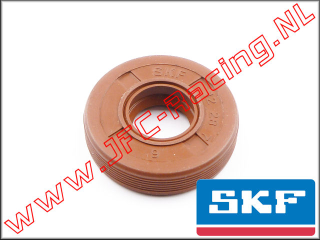 SKF 7303/2, SKF High Performance Viton Olie Keerring (12x28x7 HMSA10V) 1st.