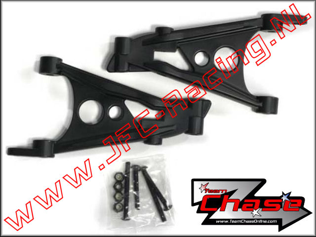 TCH 2706, Team Chase Rear Shock Uprights (HPI Baja 5B/5T/5SC) 2st.