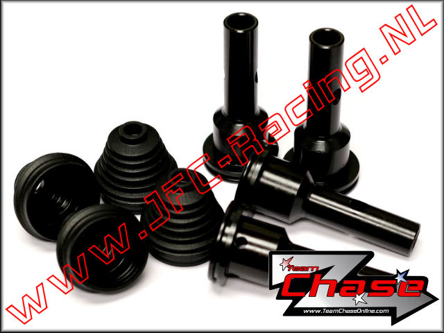 TCH 2753, Team Chase Steel Axles And Boots (Losi 5ive-T & Mini WRC) 4st.