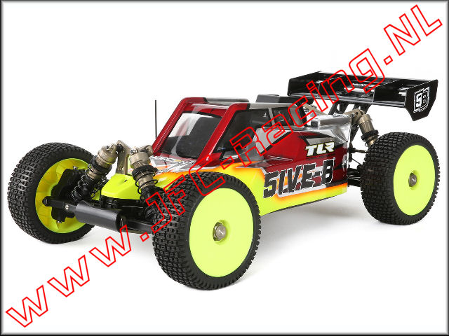Bouwtekening Losi 5ive-B Off-road Racing Buggy.