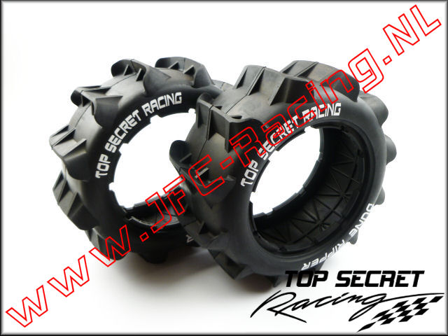 "TSR 0954, Top Secret Racing ""Dune Ripper"" Sand Paddle Tires (TSR)(HPI Baja 5B) 1st."