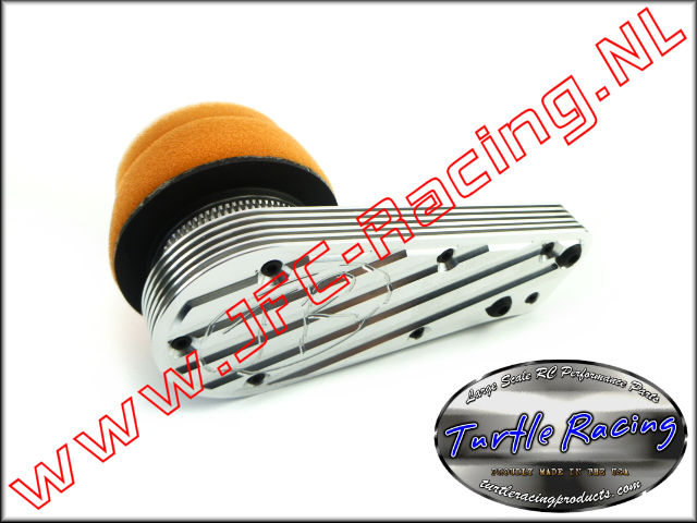 TUR 1611, Air Filter Box (Losi 5ive)(Clamp-On Filter)(Turtle Racing) 1pcs.