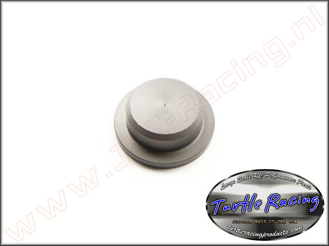 TUR 2016-GM, Transmission Cap Flat (<FONT COLOR=404040>Gun metal</FONT>)(Turtle Racing) 1st.