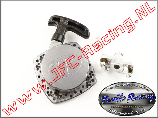 TUR V026-GM, V2 HD Racing Trekstarter (<FONT COLOR=404040>Gun metal</FONT>)(Turtle Racing) 1st.