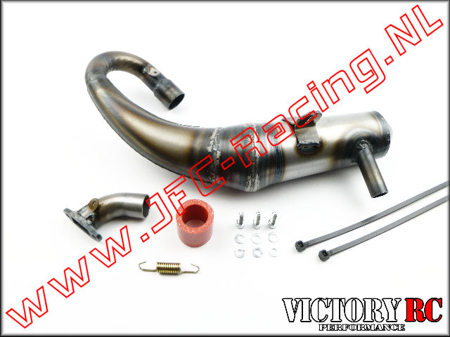 VRC 8109, VRC High Performance (killer-S) uitlaat (FG Leopard 2)(2WD & 4WD)(Rear) 1st.