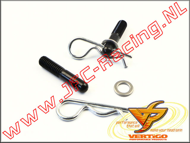 VTG 130912, Vertigo Quick Release Body Posts Rear (Vekta.5) 2pcs.